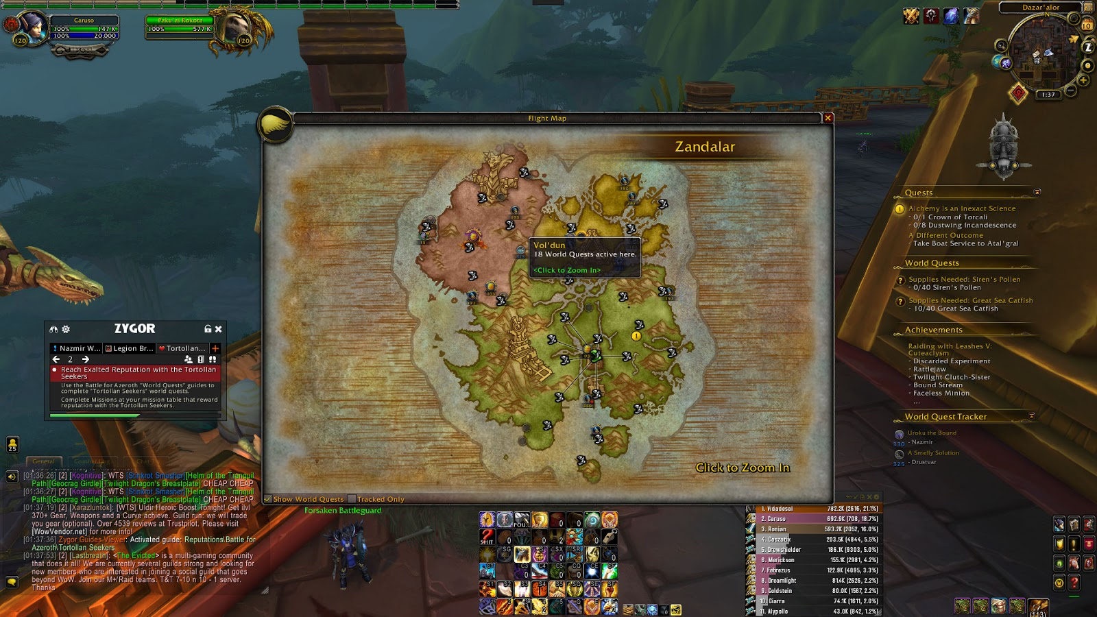 Leveling in Battle for Azeroth 8 1 – Game Gold Fast
